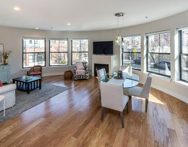 55 Station Street 1A, Brookline, MA 02445 (MLS #72624221) :: The Gillach Group