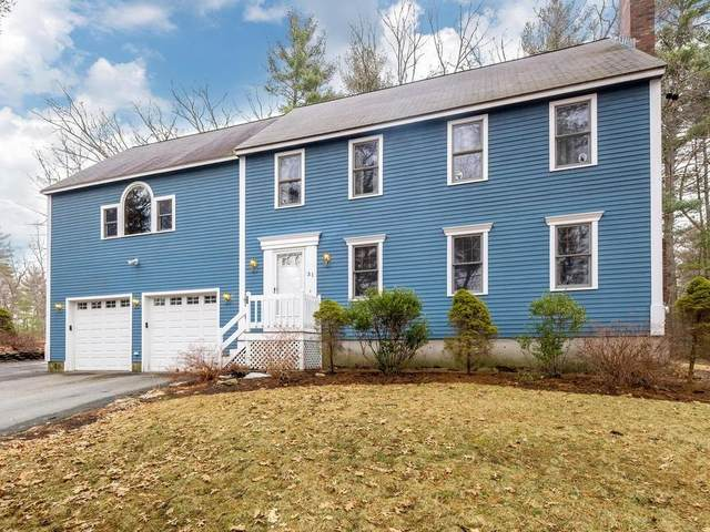 31 Pine Trail, Groton, MA 01450 (MLS #72625407) :: Exit Realty