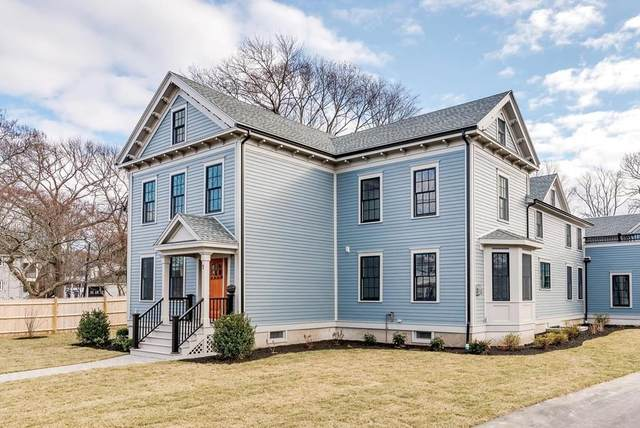 336 Newtonville Ave #1, Newton, MA 02460 (MLS #72626953) :: The Gillach Group