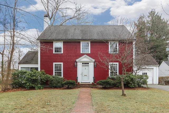74 Leighton Road, Wellesley, MA 02482 (MLS #72631970) :: The Gillach Group