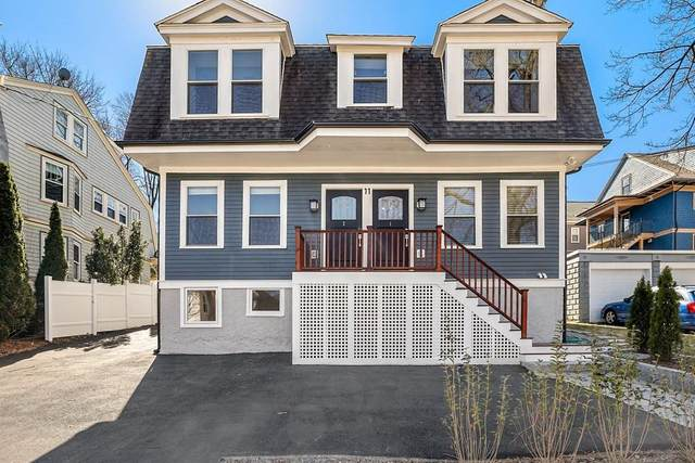 11 Ricker Terrace #1, Newton, MA 02458 (MLS #72636219) :: The Duffy Home Selling Team