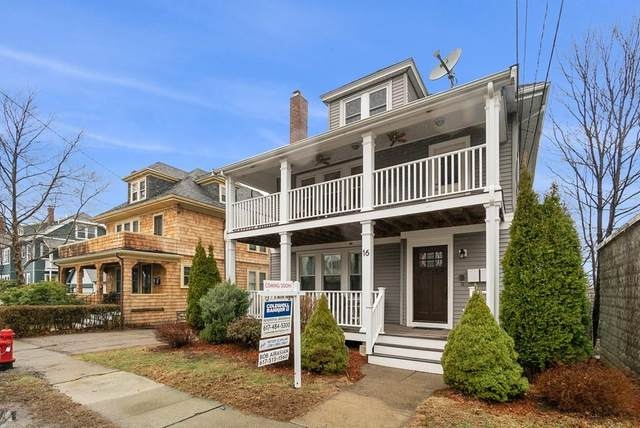 16 Sunset Road #1, Watertown, MA 02472 (MLS #72639681) :: Conway Cityside