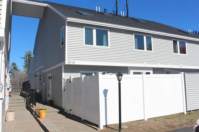 56 Meadow Pond Drive M, Leominster, MA 01453 (MLS #72640133) :: The Gillach Group