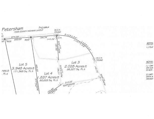 Lot 4 Petersham Rd, Phillipston, MA 01331 (MLS #72642838) :: Spectrum Real Estate Consultants