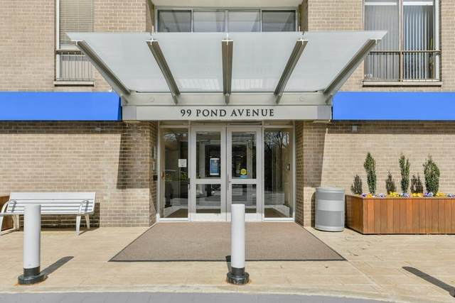 99 Pond Ave #814, Brookline, MA 02445 (MLS #72648273) :: Trust Realty One