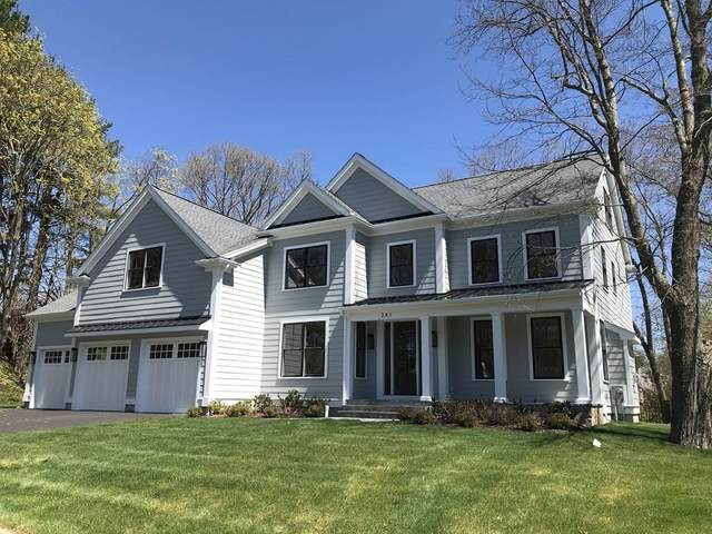 241 Lowell Road, Wellesley, MA 02481 (MLS #72650841) :: The Gillach Group