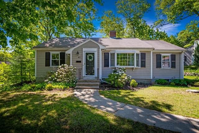 41 Maurice Road, Wellesley, MA 02482 (MLS #72663339) :: Westcott Properties