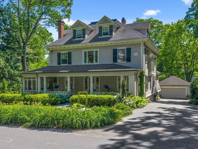 101 Abbott Rd, Wellesley, MA 02481 (MLS #72676575) :: EXIT Cape Realty