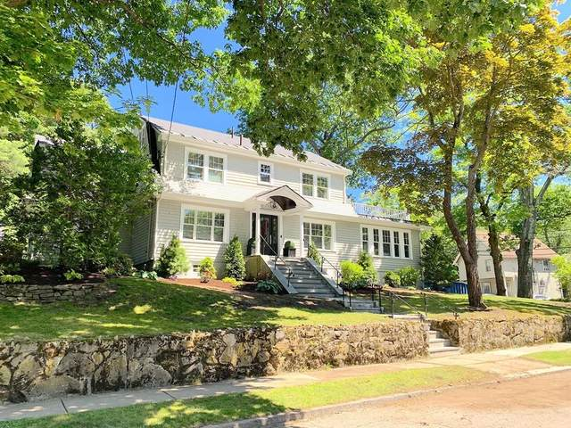 5 Pine Crest Rd, Newton, MA 02459 (MLS #72678358) :: The Seyboth Team