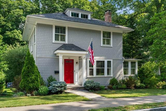 23 Glen Road, Wellesley, MA 02481 (MLS #72680933) :: The Gillach Group