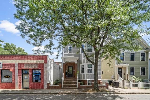 146 Columbia Street #3, Cambridge, MA 02139 (MLS #72686240) :: The Seyboth Team