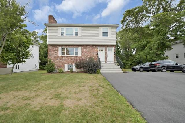4 Bryon Road #4, Newton, MA 02467 (MLS #72687972) :: The Gillach Group