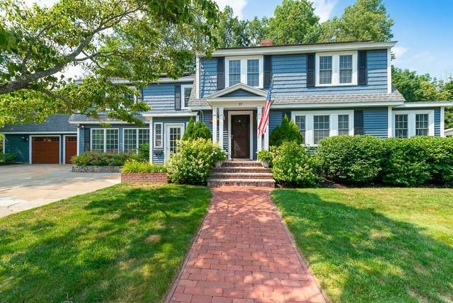 57 West Greenwood St, Amesbury, MA 01913 (MLS #72689247) :: The Gillach Group