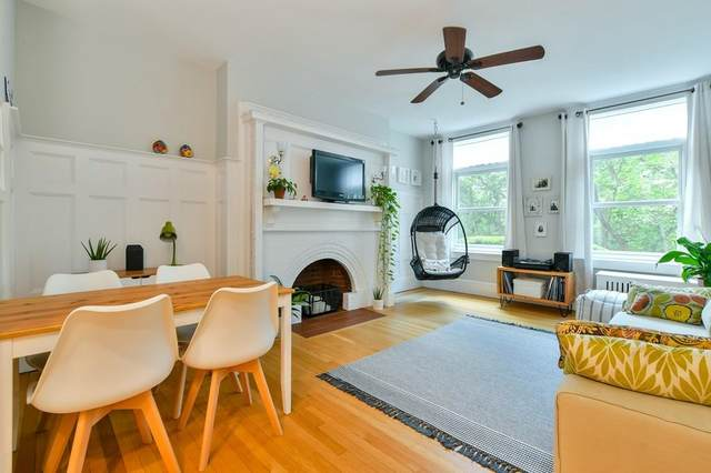 35 Westbourne Terrace #1, Brookline, MA 02446 (MLS #72692578) :: The Gillach Group