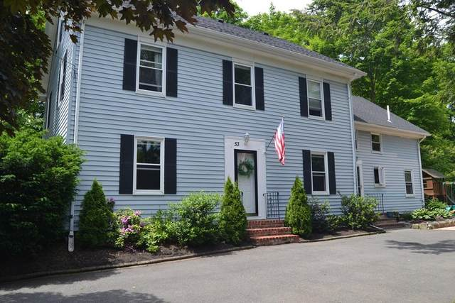 53 Pound St #53, Medfield, MA 02052 (MLS #72695756) :: Trust Realty One