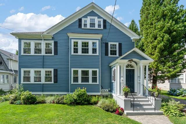 22 George #22, Newton, MA 02458 (MLS #72700632) :: Berkshire Hathaway HomeServices Warren Residential