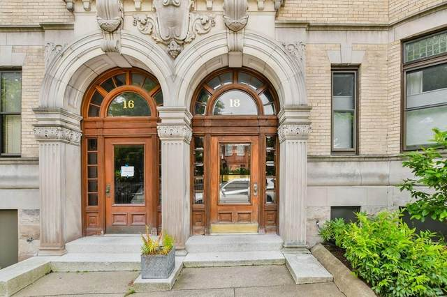 18 Browne St #2, Brookline, MA 02446 (MLS #72700795) :: The Gillach Group