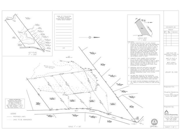 Lot 1-4 West St, Stoughton, MA 02072 (MLS #72702787) :: The Gillach Group