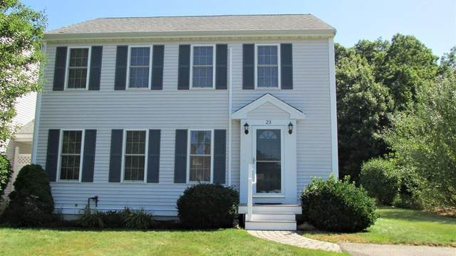 23 White St #23, Plymouth, MA 02360 (MLS #72705326) :: The Seyboth Team