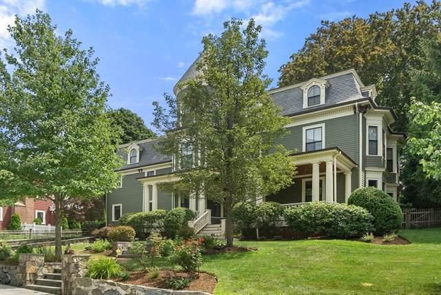 302 Mount Vernon Street, Newton, MA 02465 (MLS #72706206) :: The Gillach Group