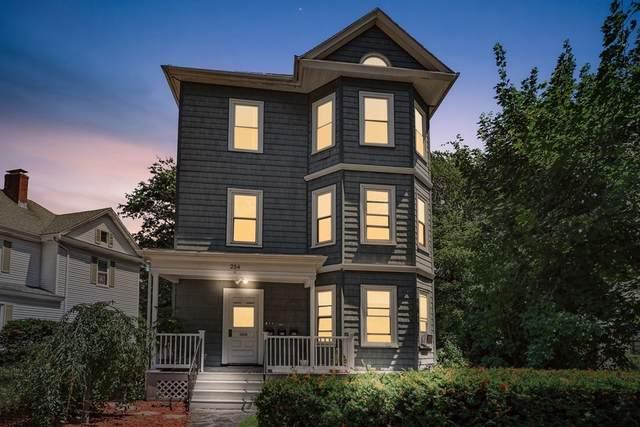 254 Clyde St #2, Brookline, MA 02467 (MLS #72707040) :: Berkshire Hathaway HomeServices Warren Residential