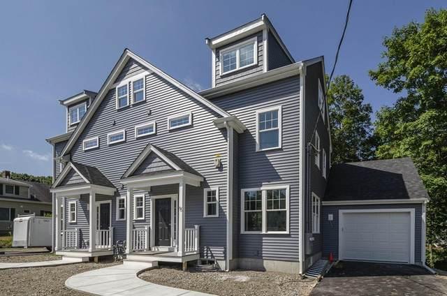 5 Pleasant St #5, Foxboro, MA 02035 (MLS #72707272) :: Welchman Real Estate Group