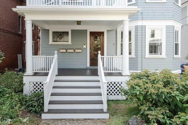 21 Searle Ave #1, Brookline, MA 02445 (MLS #72726454) :: Parrott Realty Group
