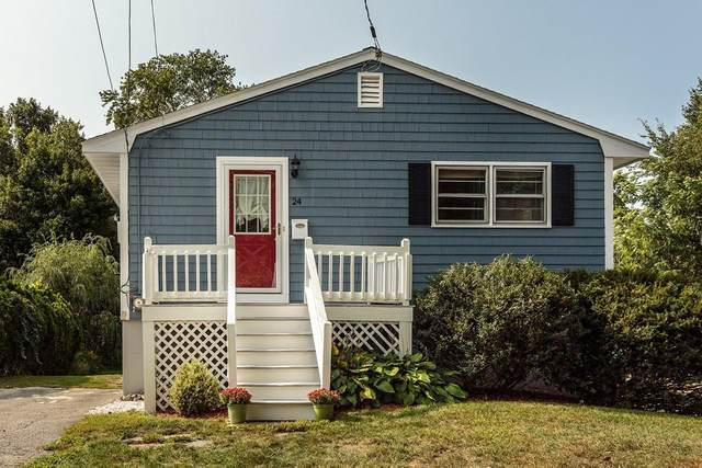 24 Humboldt Street, Waltham, MA 02452 (MLS #72727438) :: Boylston Realty Group