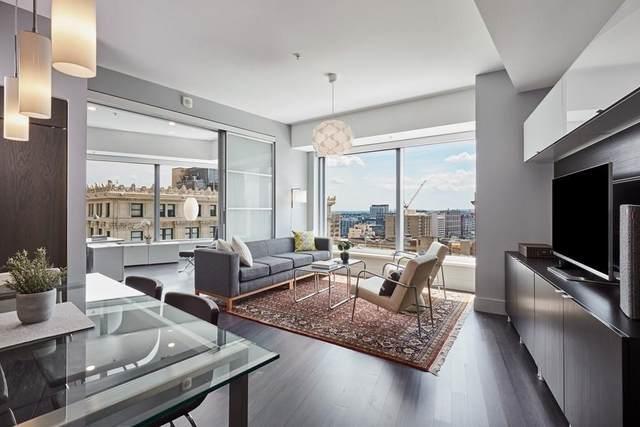 110 Stuart Street 16H, Boston, MA 02116 (MLS #72728135) :: Zack Harwood Real Estate | Berkshire Hathaway HomeServices Warren Residential