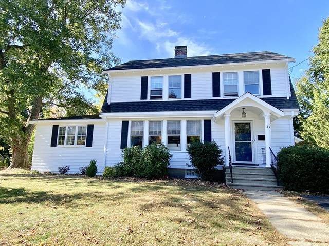 43 Wilshire Park, Needham, MA 02492 (MLS #72743900) :: EXIT Cape Realty