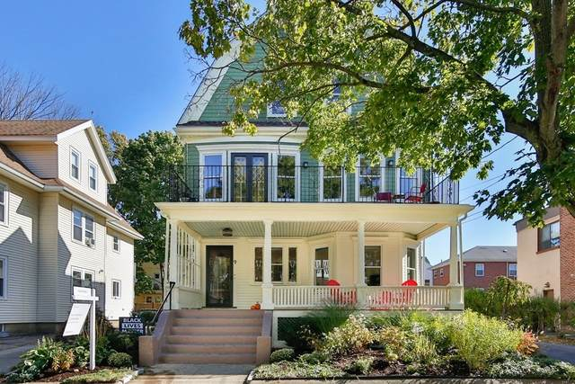 9 Trowbridge St., Arlington, MA 02474 (MLS #72744141) :: Taylor & Lior Team