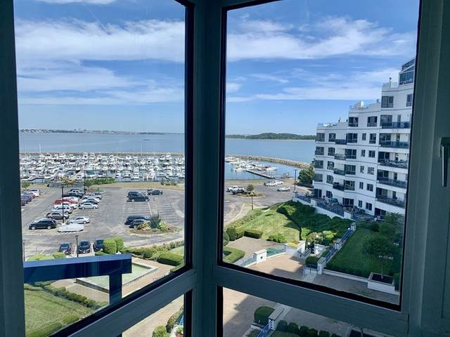 1001 Marina Dr #502, Quincy, MA 02171 (MLS #72745410) :: Taylor & Lior Team