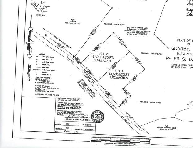 Lot 2 Batchelor St, Granby, MA 01033 (MLS #72745665) :: DNA Realty Group
