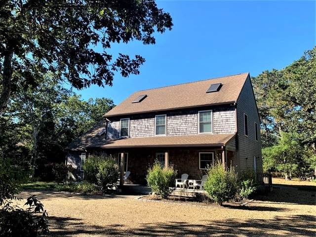 18 Saddle Club Rd, Edgartown, MA 02539 (MLS #72747870) :: The Gillach Group