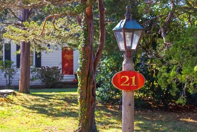 21 Briar Spring Rd, Orleans, MA 02653 (MLS #72749490) :: The Gillach Group