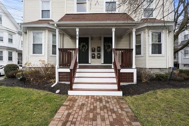 86 Brown St #2, Waltham, MA 02453 (MLS #72749982) :: Conway Cityside