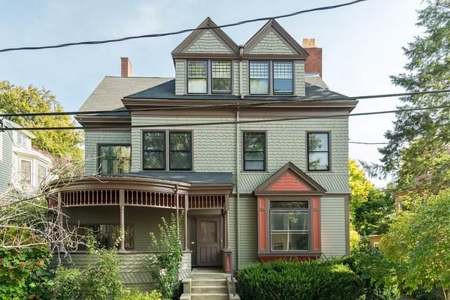 24 Agassiz St #24, Cambridge, MA 02140 (MLS #72750007) :: Maloney Properties Real Estate Brokerage