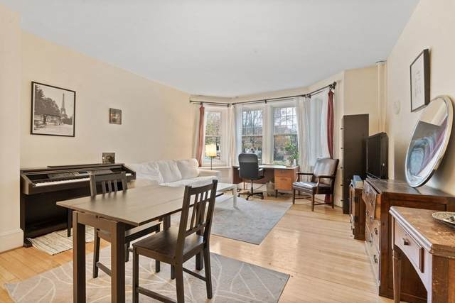 62 Dwight St #2, Brookline, MA 02446 (MLS #72758906) :: The Gillach Group