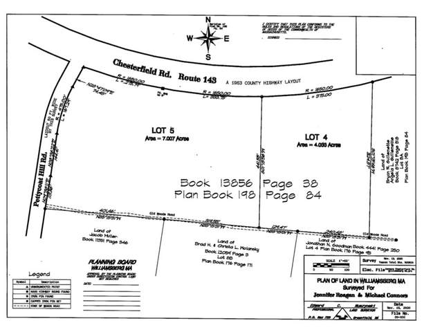 Lot 4 Chesterfield Rd, Williamsburg, MA 01096 (MLS #72761985) :: The Gillach Group
