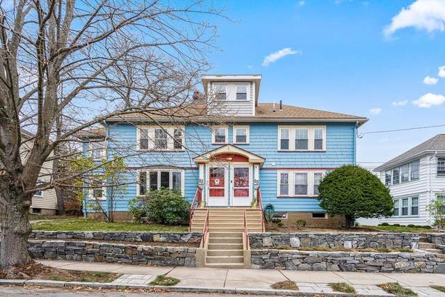 15 Noble Street #15, Newton, MA 02465 (MLS #72763082) :: The Gillach Group