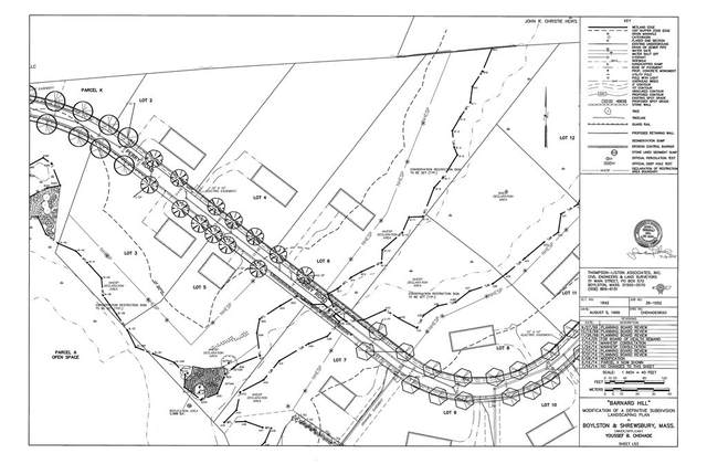 5 (Lot 2) Perry Road, Boylston, MA 01505 (MLS #72764549) :: The Duffy Home Selling Team