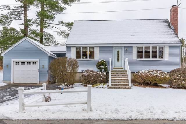 77 Bicknell Road, Billerica, MA 01821 (MLS #72765576) :: The Gillach Group