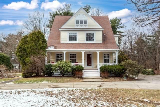 40 Pleasant Street, Sharon, MA 02067 (MLS #72765614) :: Welchman Real Estate Group