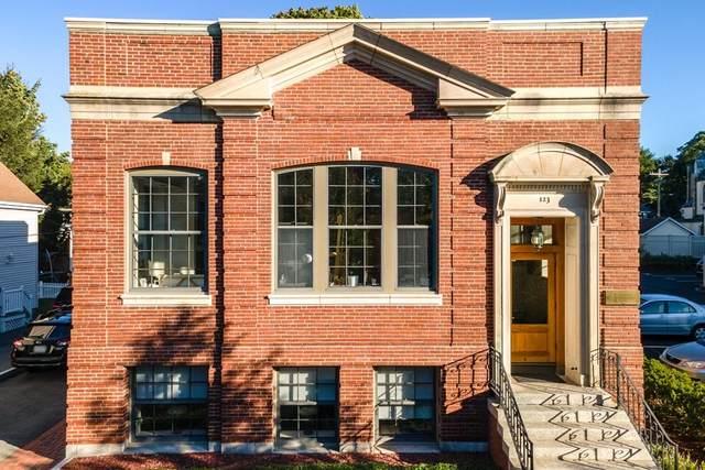 123 Washington St #2, Winchester, MA 01890 (MLS #72773713) :: Cosmopolitan Real Estate Inc.