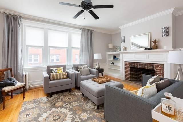 125 Park St #4, Brookline, MA 02446 (MLS #72777299) :: Kinlin Grover Real Estate