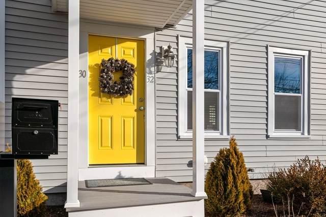 32 East Chestnut St #32, Sharon, MA 02067 (MLS #72778791) :: Westcott Properties