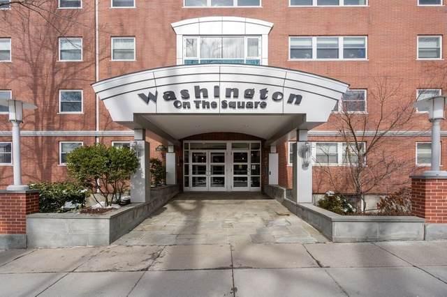 1600 Beacon St #1011, Brookline, MA 02446 (MLS #72789358) :: The Gillach Group