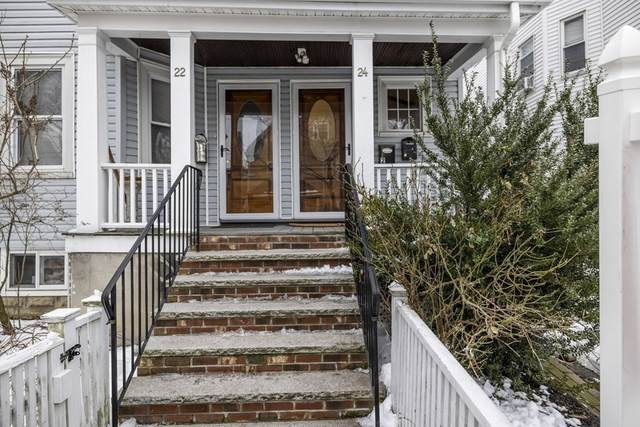 24 Adrian St #3, Somerville, MA 02143 (MLS #72789625) :: Westcott Properties