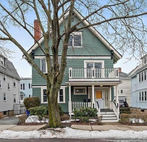 47 Bowker Street, Brookline, MA 02445 (MLS #72791532) :: Westcott Properties