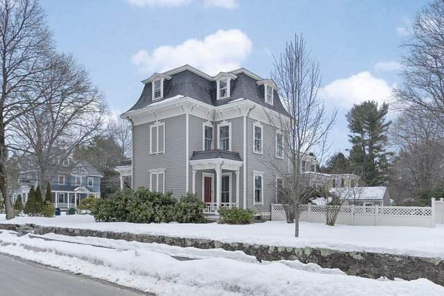 42 Maple St, Newton, MA 02466 (MLS #72792437) :: The Gillach Group